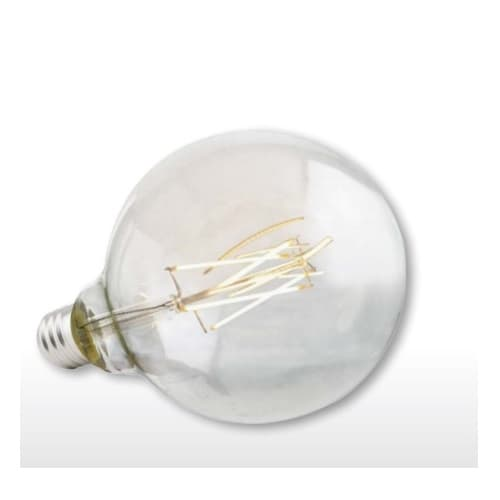 Green Creative 5W LED G40 Filament Bulb, Omni-Directional, Dimmable, E26, 470 lm, 120V, 2700K