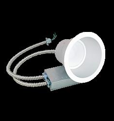 Green Creative 48W 9.5'' Retrofit Commercial Downlight, Universal Voltage, 4000K, White
