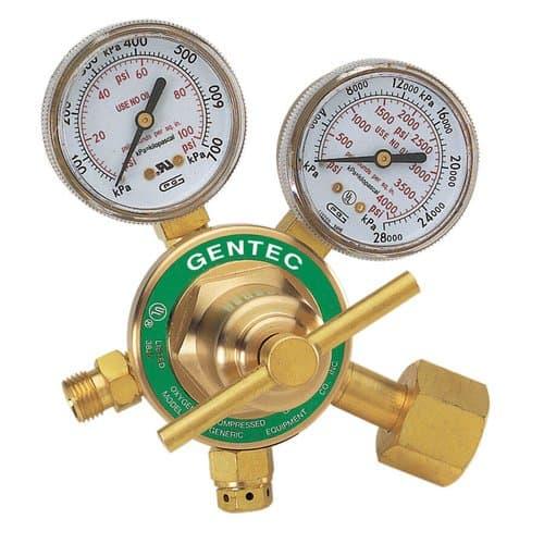 Gentec Brass Medium Duty Sinle Stage Regulator