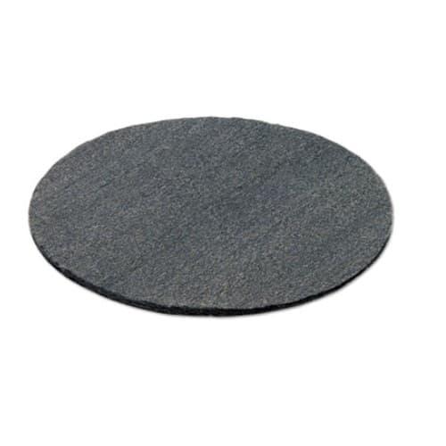 Global Material Fine Grade 19 In Radial Steel Wool Floor Pads