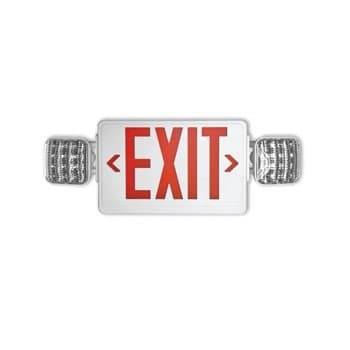 NovaLux Combo LED Exit Sign Emergency Lighting Fixture