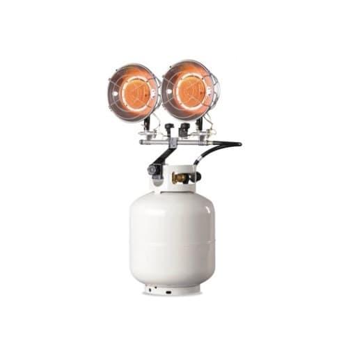 Heat Star Portable Propane Tank Top Radiant Heaters