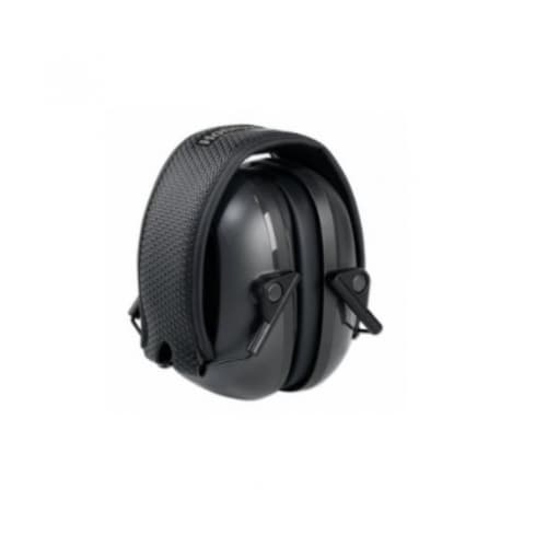 Howard Leight VeriShield® 100 Series Earmuffs, Over-The-Head, 24 NRR, Black