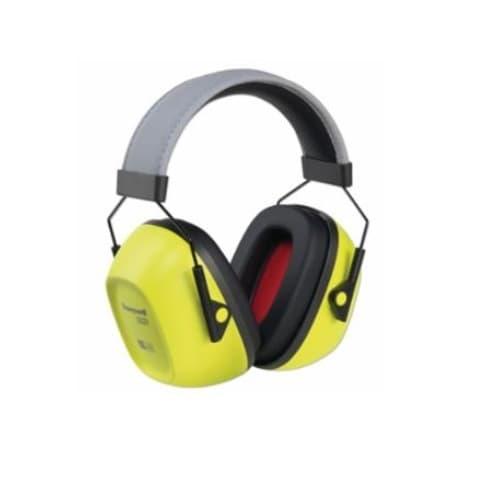 Howard Leight VeriShield 130 Series Passive Earmuffs, 30 NRR, Hi-Viz Yellow