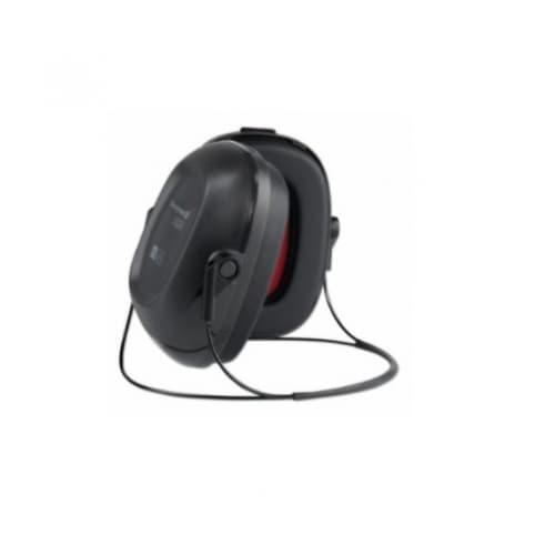 Howard Leight VeriShield® 100 Series Earmuffs, Neckband, 22 NRR, Black