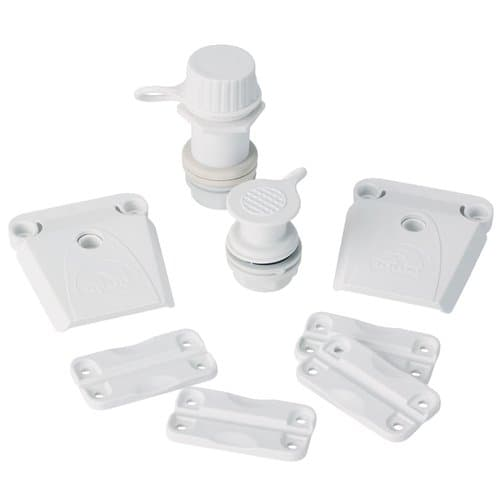 Igloo Parts Kit for Igloo Coolers, All Sizes, White