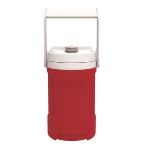 Igloo 0.5 Gallon Reusable Beverage Bottle, Red