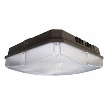 66W LED Canopy Light, Parking Garage Wide, 8455 lm, 120V-277V, 4000K