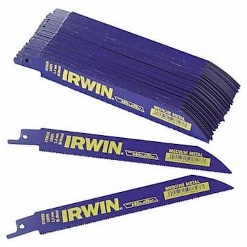 """Irwin 6"""" 18TPI Metal Cutting Reciprocating Saw Blade"""