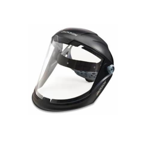 Jackson Tools MaxView Lightweight Premium Face Shield w/ Headgear, Clear