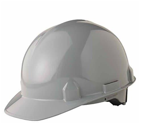Jackson Tools Gray SC-6 4-Pt. Ratchet Hard Hat