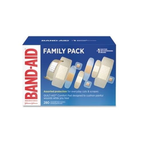 Johnson & Johnson Band-Aid Variety Pack Sheer Wet Flex Bandages
