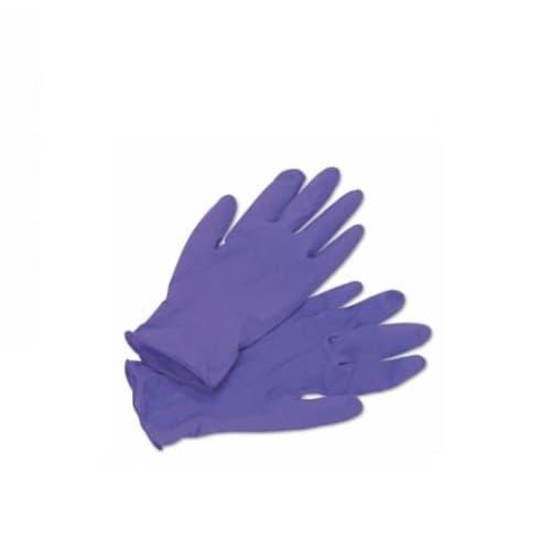 Kimberly-Clark 10-in Medium Nitrile Exam Gloves, Latex-Free,  Purple