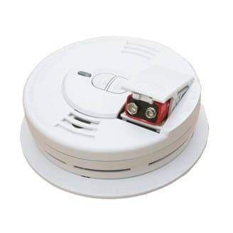 Kidde 9v Front-Load Battery Operated Smoke Alarm with Hush Feature