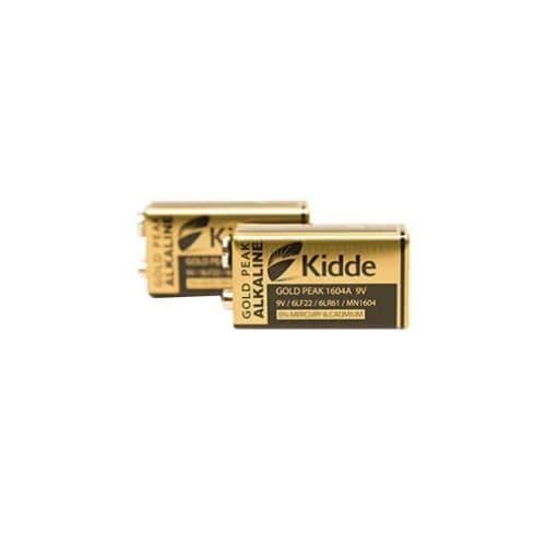 Kidde 9V Alkaline Battery for Alarms