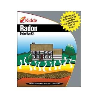 Kidde Radon Gas Detection Test Kit