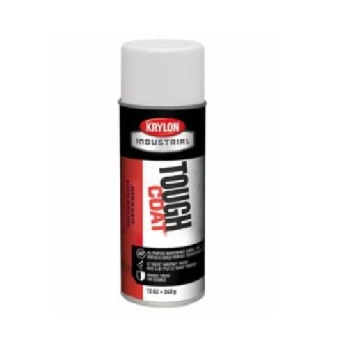 Krylon 12 oz Tough Coat Acrylic Alkyd Enamel, OSHA White
