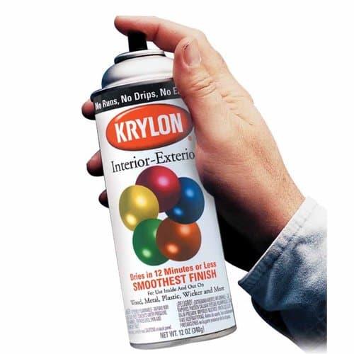 Krylon 12oz Semi-Flat Black Interior/Exterior Aerosol Spray Paint