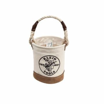 Mini Tool Bucket w/ Leather Bottom