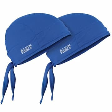 Klein Tools Cooling Do Rags, Blue
