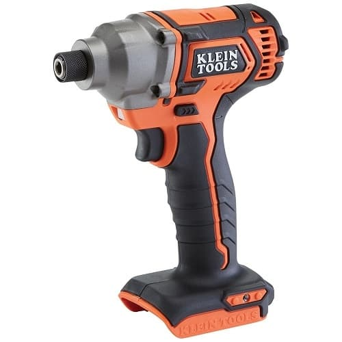 Klein Tools 1/4-in Hex Compact Impact Driver, Battery Operated, Tool Only