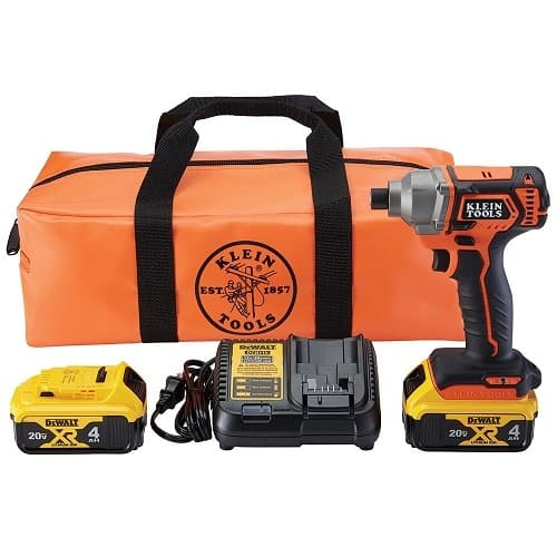 1/4-in Compact Impact Driver, Battery Operated, Full Kit
