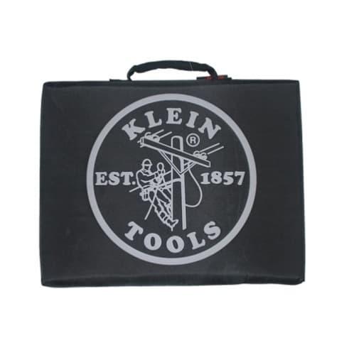 Klein Tools Black Lineman Logo Stadium Cushion