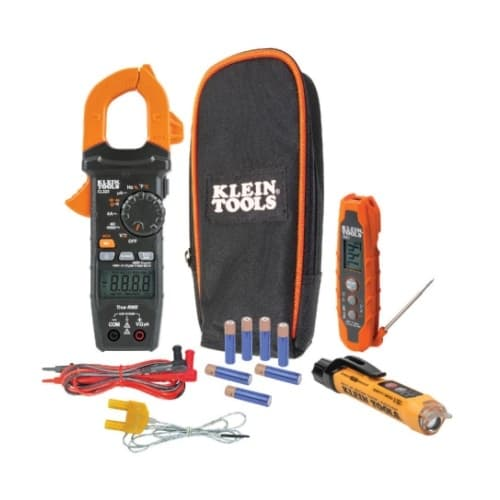 Klein Tools HVAC Kit w/ Non-Contact Testers, 12V to 1000V AC