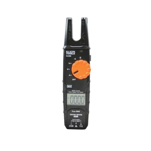 200 Amp AC Open Jaw Fork Meter