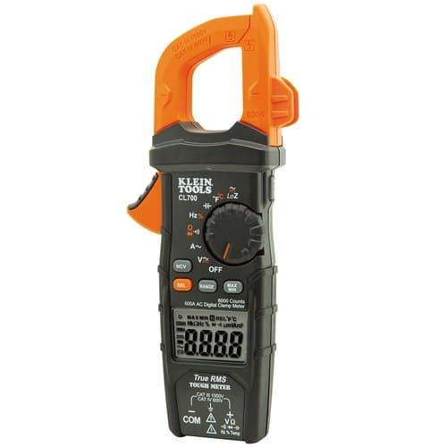 Klein Tools 600 Amp AC Auto-Ranging Digital Clamp Meter