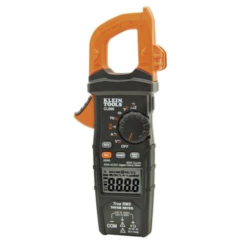 Klein Tools 600 Amp Digital Clamp Meter, AC/DC Auto-Ranging