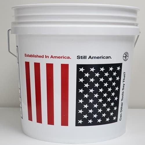Klein Tools 5-Gal Limited Edition Freedom Logo Bucket