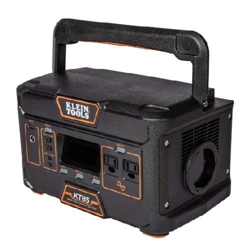 Klein Tools 7.5-in x 11.75-in Portable Power Station, 546Wh, 120V