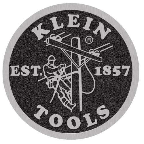 "Klein Tools Coin Logo Decal, 5"" Diameter"