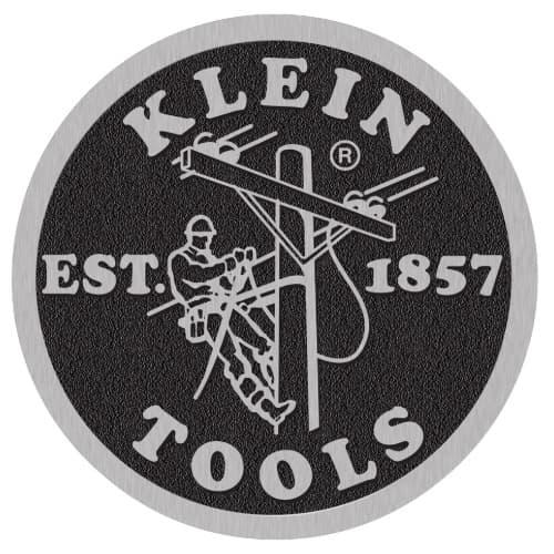 "Klein Tools Coin Logo Decal, 8"" Diameter"