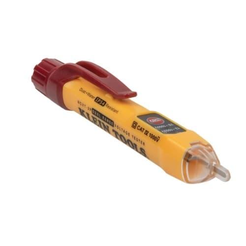 Klein Tools Non-Contact Voltage Tester, Dual Range, 12V-1000V AC