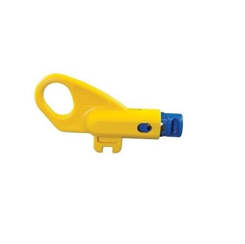 Yellow Finger-Loop External Blade Twisted Pair Radial Stripper