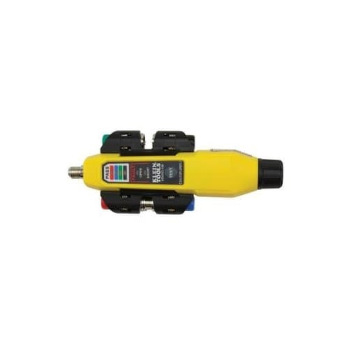 Yellow Simple Operation 2-Tester Coax Explorer with Remote Kit