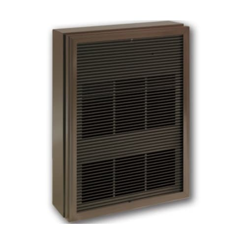12000W Architectural Wall Heater w/ Thermostat, 1 Ph, Triple, 480V