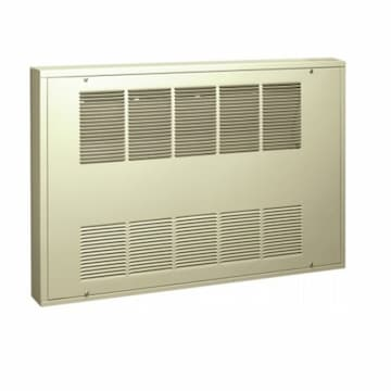3-ft 1500W Cabinet Heater w/ TP SP Stat, Surface, 1 Ph, 140 CFM, 208V