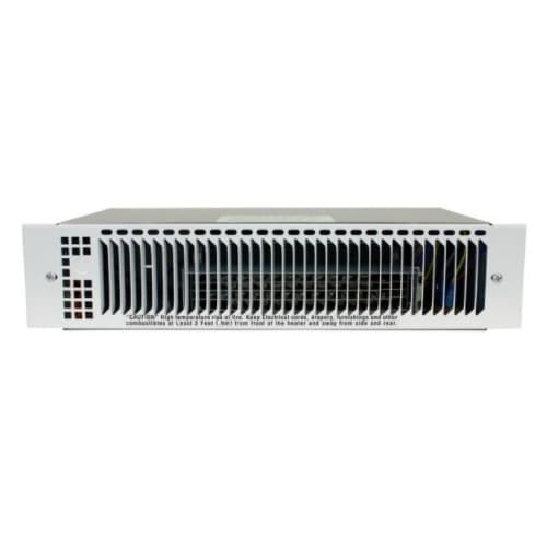 1500W Kickspace Heater, Up to 175 Sq Ft, 70 CFM, 6.25 Amp, 208V/240V, White