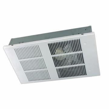 4000W Ceiling Heater, 400 Sq Ft, Large, 19.2 Amp, 208V, White