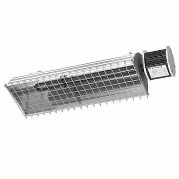 19-in 1600W Industrial Radiant Heater, 480V
