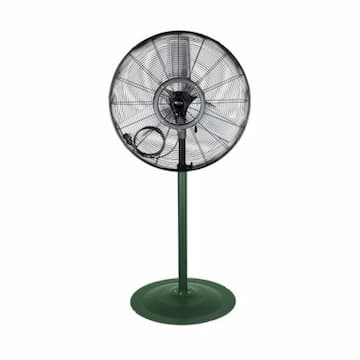 24-in Commercial High Velocity Oscillating Fan w/ Pedestal