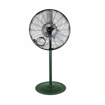 30-in Commercial High Velocity Oscillating Fan w/ Pedestal