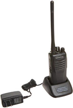 Kenwood 151-159 MHz VHF 2W 4 Channel Handheld Radio- Tunable