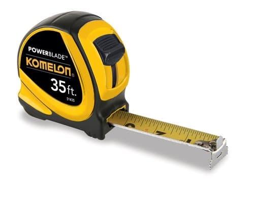 Komelon 35-Foot x 1.06-Inch ABS PowerBlade Tape Measure