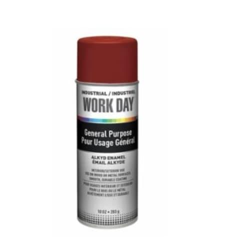 Sprayon Red Primer Industrial Work Day Enamel Paint
