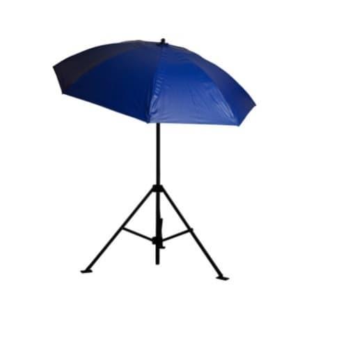 7-ft Heavy-Duty Umbrella, Vinyl, Blue