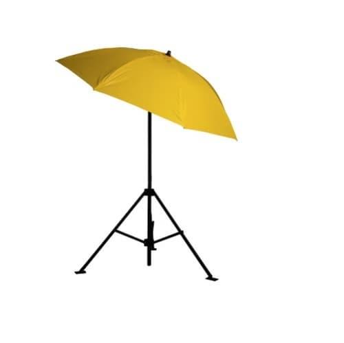 6.5-ft Heavy-Duty Umbrella, Vinyl, Yellow